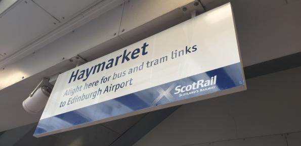 Edinburgh Haymarket railway station