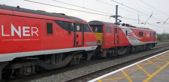 LNER Class 91 double-header