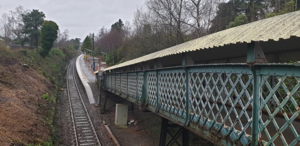 Helensburgh Upper railway station