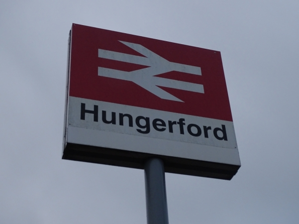 Hungerford railway station