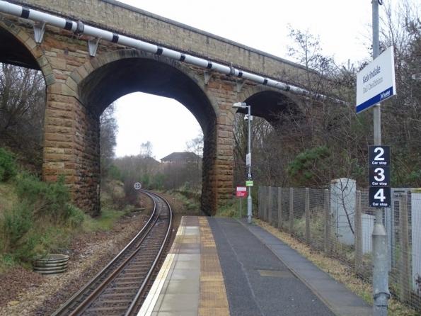 Kelvindale railway station
