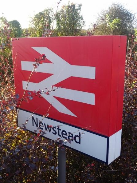 Newstead railway station