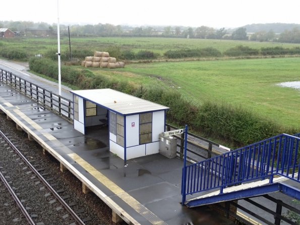 Teesside Airport railway station