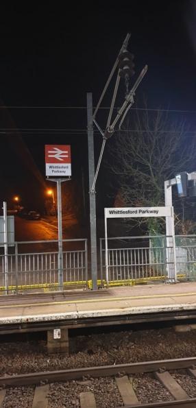 Whittlesford Parkway railway station