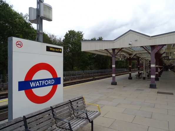 Watford tube station