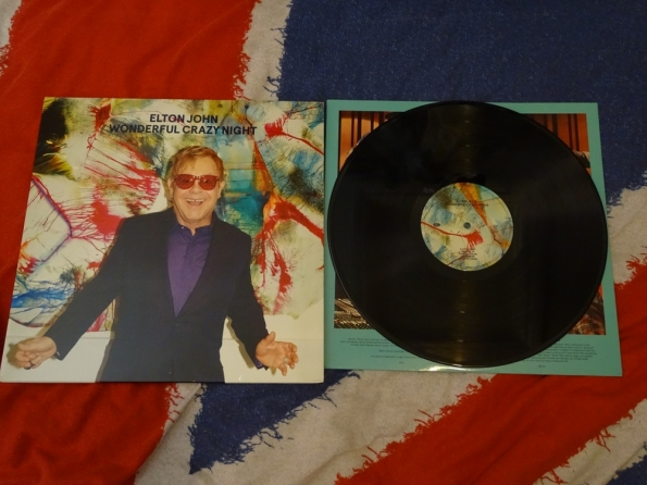 Wonderful Crazy Night, by Elton John