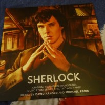 Sherlock OST Vinyl Art Edition, by David Arnold and Michael Price
