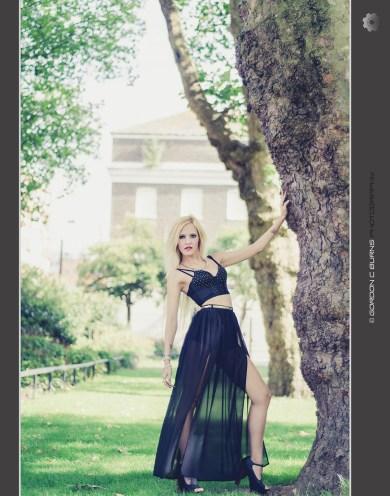 claudia black dress 2 1080 - Gordon C burns photography