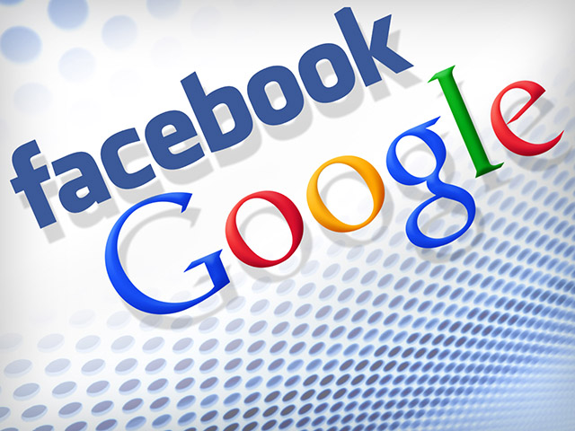 Google and Facebook partnership graphic - May 22, 2012