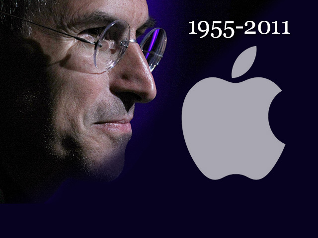 Steve Jobs obit graphic - Aug. 24, 2011
