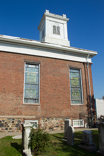 The Reformed Church in the historic Port Richmond section of Staten Island, N,Y. on Tuesday Oct. 29, 2013. (Gordon Donovan)