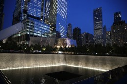 One of the 9/11 Memorial pools and Museum in New York City on Sept. 8, 2016.(Gordon Donovan/Yahoo News)