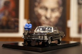 """Alton Takeyasu is Mattel Hot Wheels Design's principal designer. Growing up in California, he owned many """"Star Trek"""" toys and model kits, which served him well as he studied illustration and industrial design at the Art Center College of Design. (Photo: Gordon Donovan/Yahoo News)"""