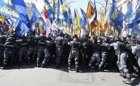 photo Ukraine chaos