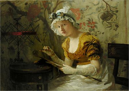 Franz Xaver Simm Seamstress