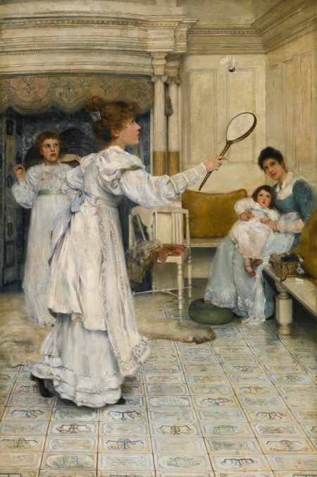 Laura Theresa Alma-Tadema - Battledore and Shuttlecock