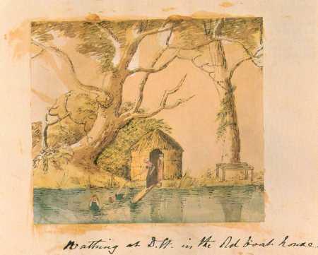 Bathing at Dynes Hall 1812-3