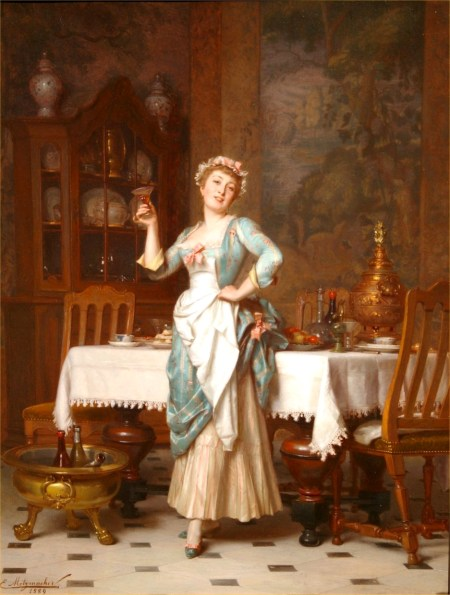 12-emile-pierre-metzmacher-an-elegant-maid