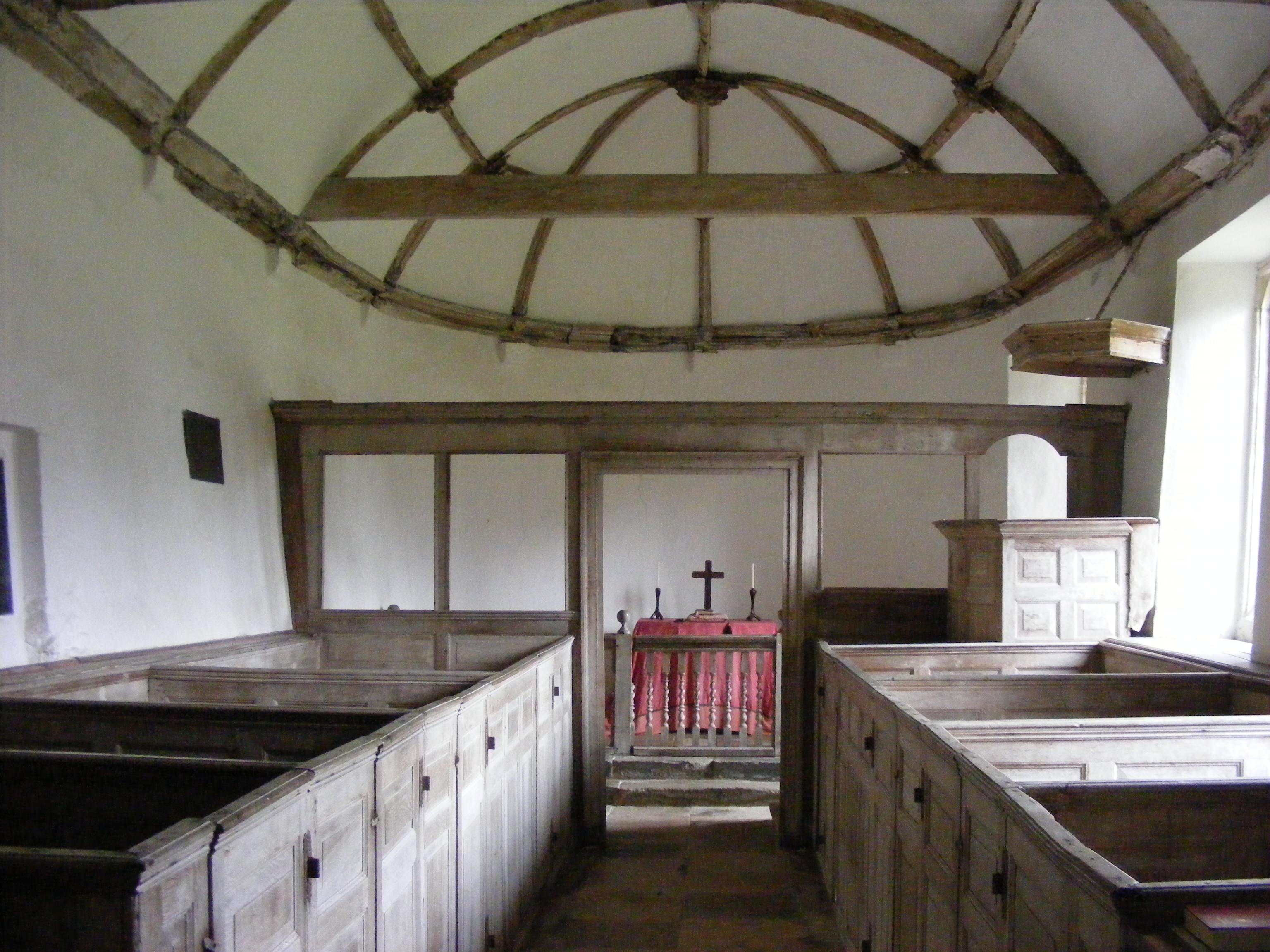 Winterborne Tomson, St Andrew, interior