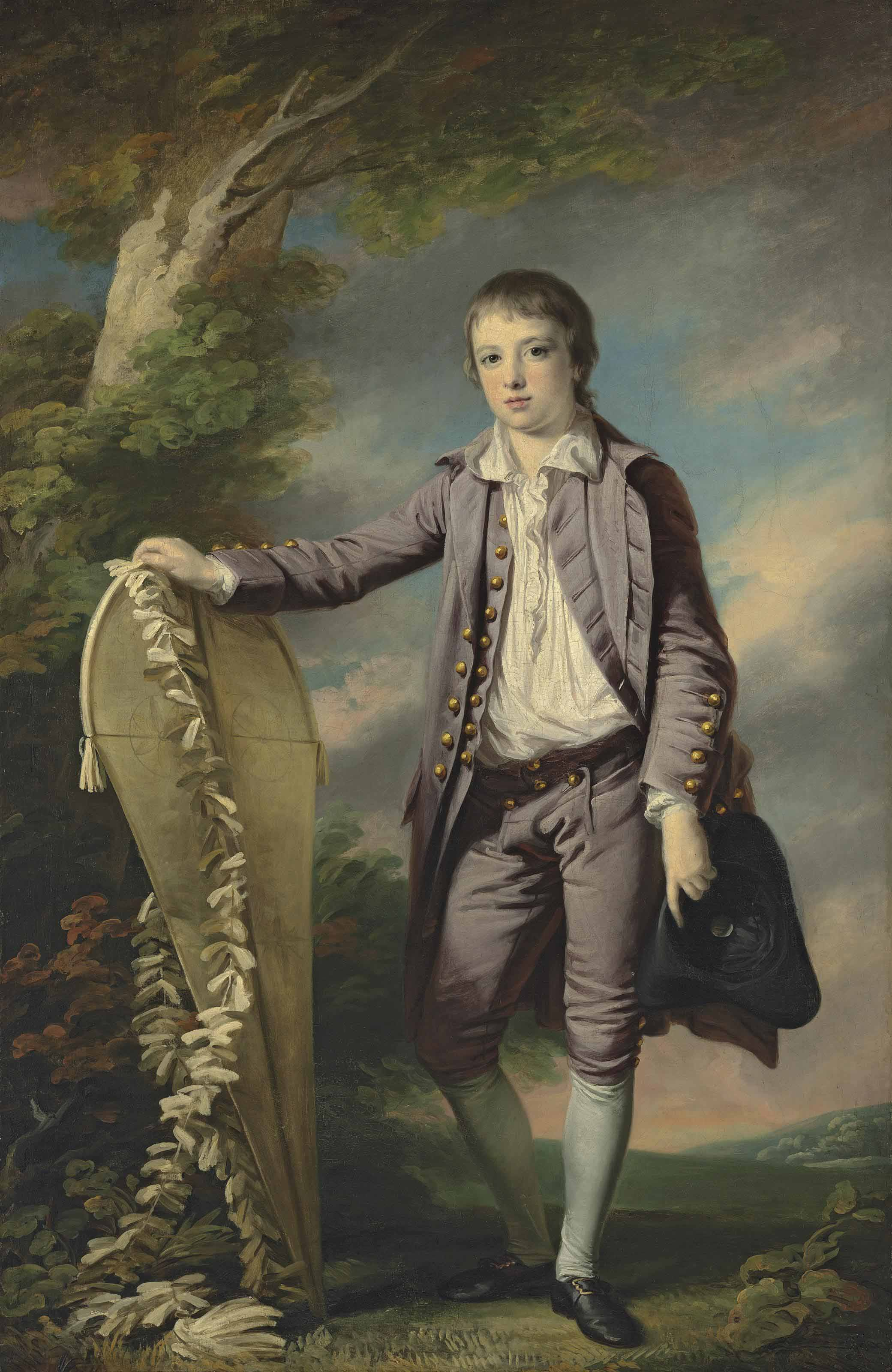 4 Francis Cotes - Portrait of Master Smith