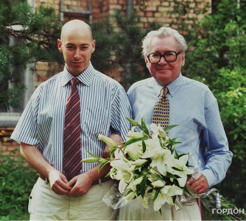 Дмитрий Гордон и Павел Загребельный. Фото: Gordonua.com