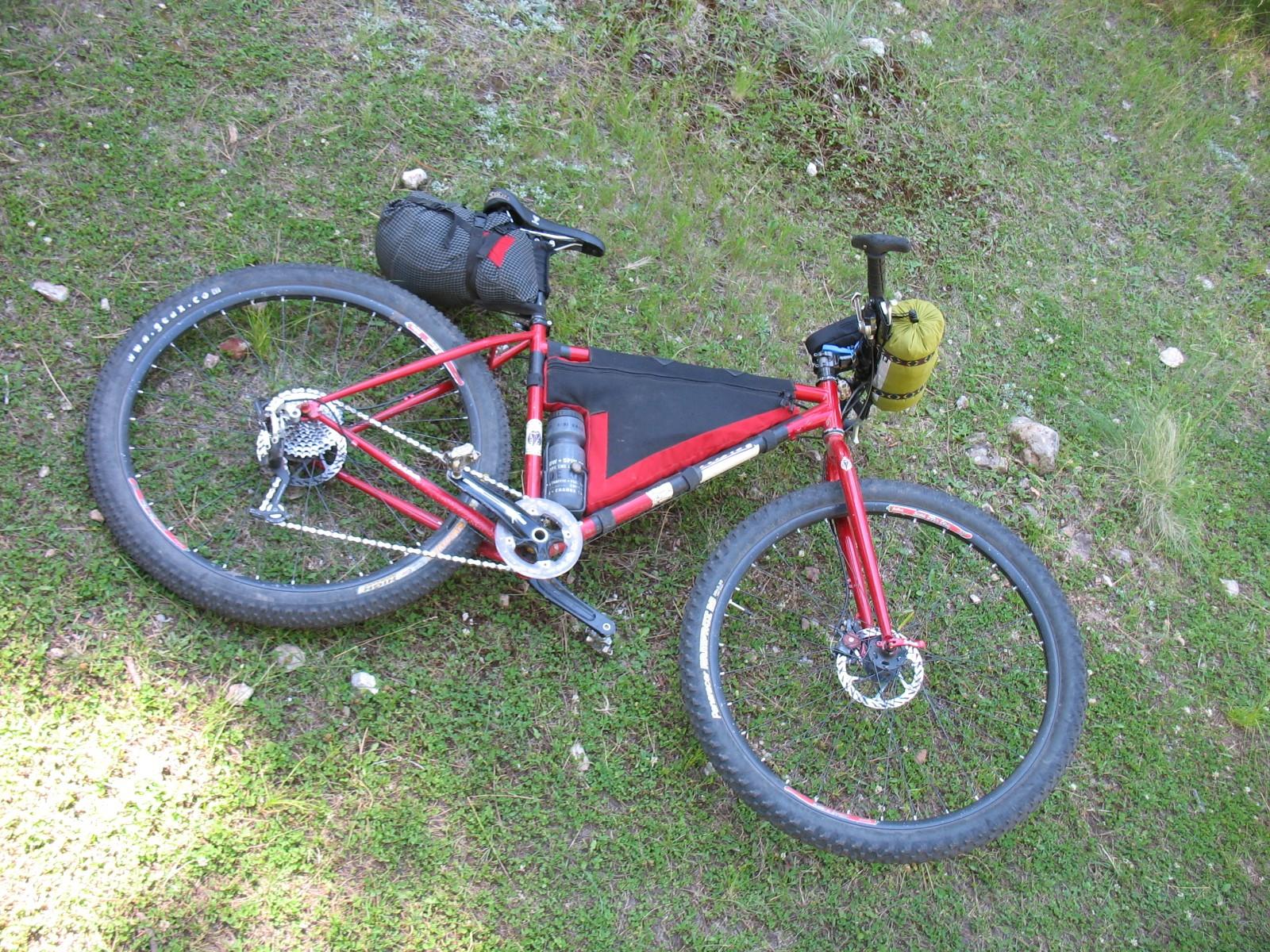 bikepacking.