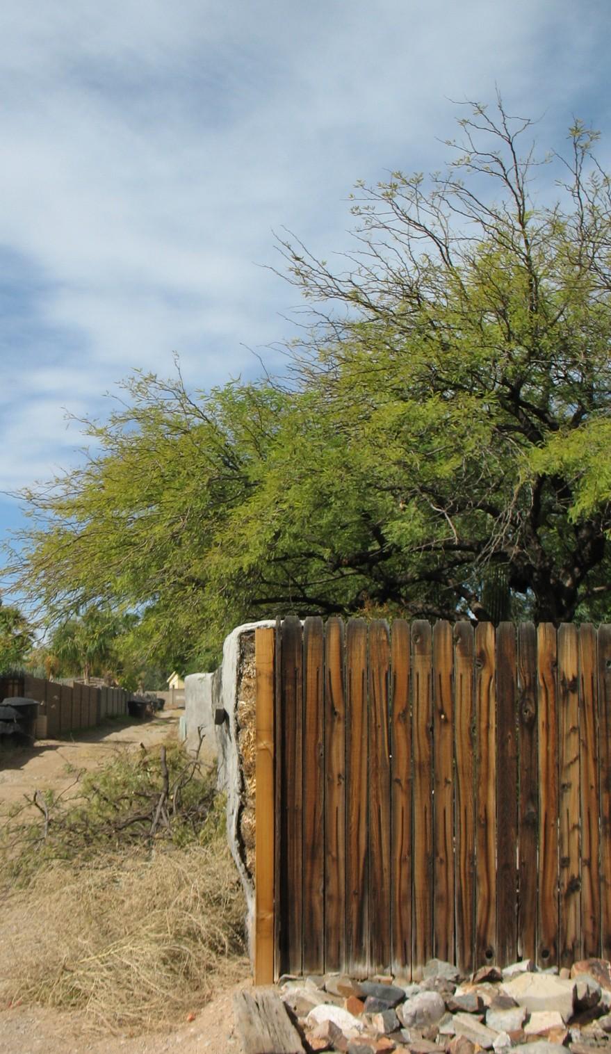 hay bale wall