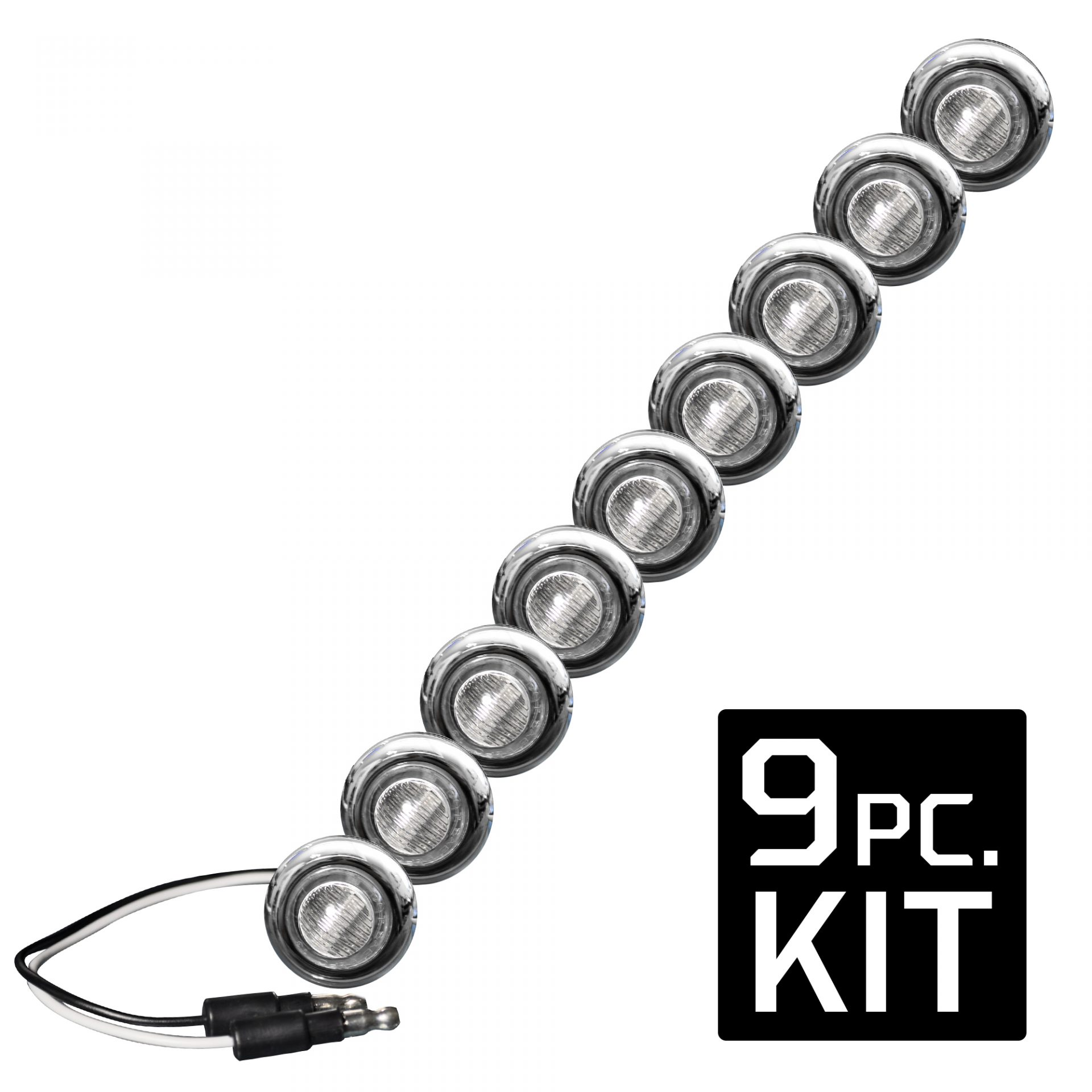Recon Whcl Universal White Led Front Lower Air Dam