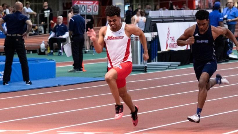 Men S Track Wraps Up Regular Season At Yale