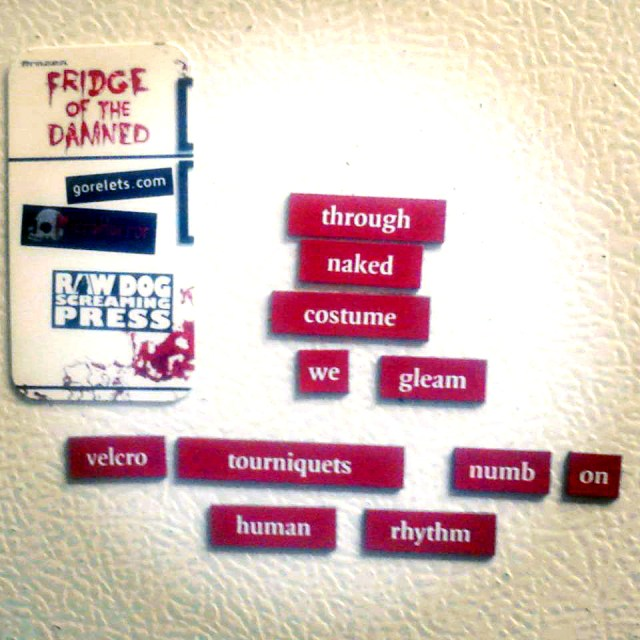 Fridge Poem by Jessica McHugh