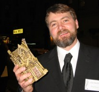 Arnzen in 2004 at Bram Stoker Award Ceremony