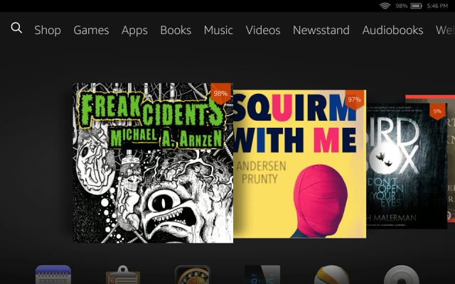 Audiobook on the Kindle Fire