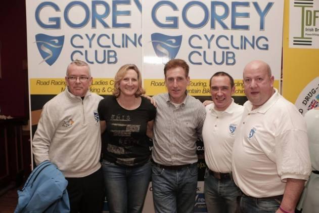L-R: Gerry Hanratty, Orla Hendron, Sean Kelly, Murt Doyle, Derek Webb