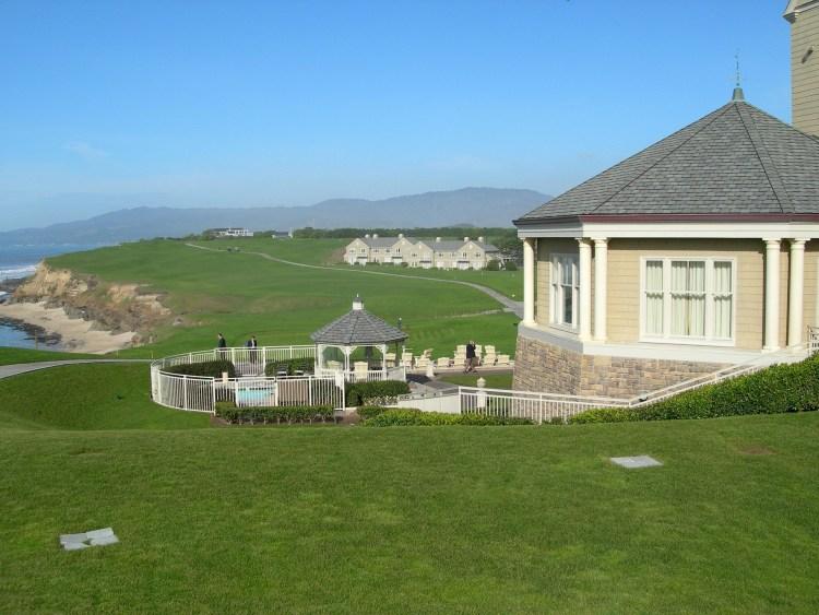 The Ritz Carlton Half Moon Bay is a top hotel along California Highway 1