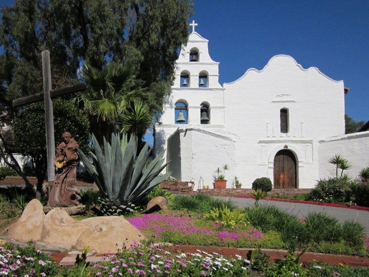 The history of California's Mission San Diego De Alcala includes tragedy and violence.