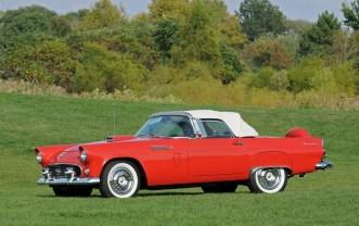 00 1956 ford thunderbird convertible 11