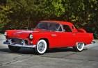 00 1956 ford thunderbird convertible 14
