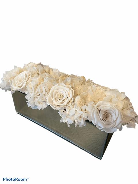White color bouquet