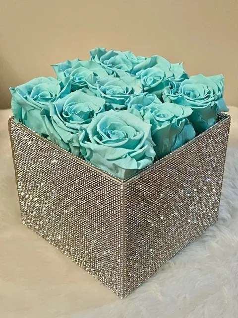 Tiffany color of roses