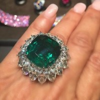 Emerald and Diamond Ring by Bayco Jewelry
