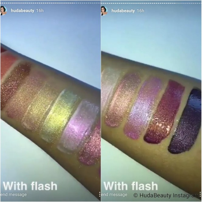 Launching This Month | Huda Beauty Lip Strobes - In 12 Beautiful Strobing Metallic Shades!