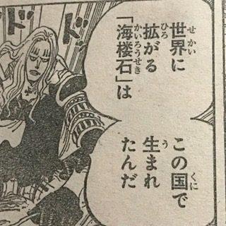 ワノ国海桜石924話ネタバレ