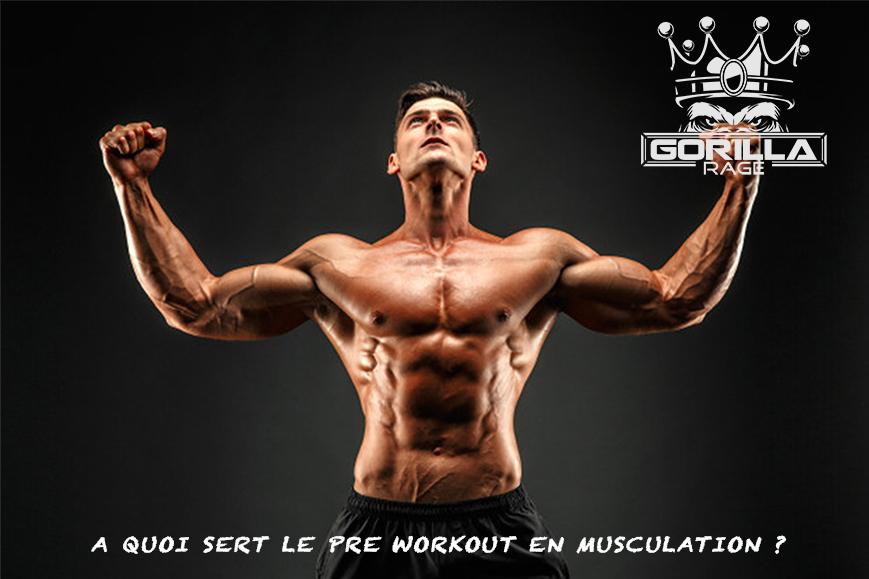 A quoi sert le pre workout en musculation ?