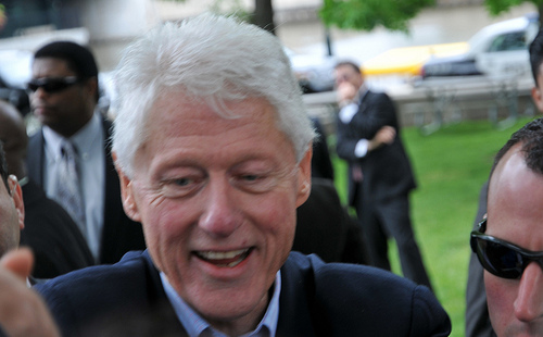 Bill Clinton Eats Plants!