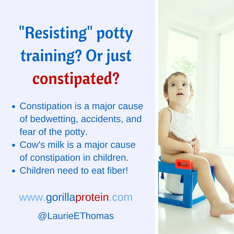 Is the Child Resisting Toilet Training? Or Merely Constipated?