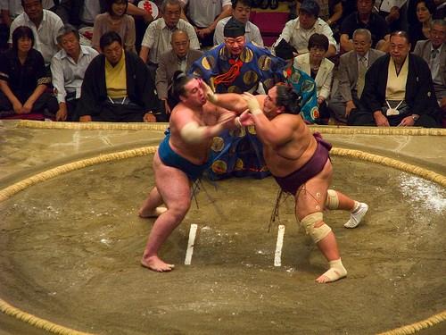 Americans Eat Like Sumo Wrestlers