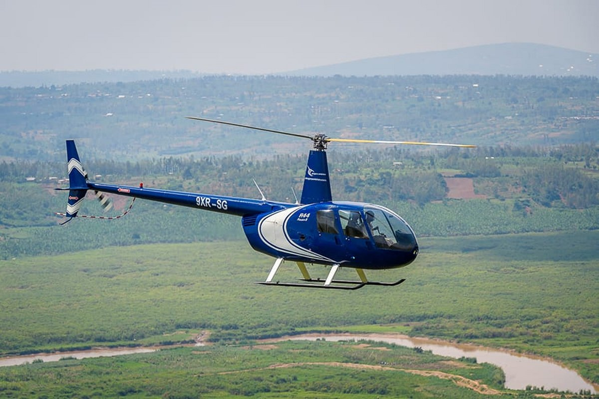 Helicopter Adventures Akagera National Park