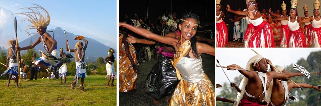 cultural dancers in rwanda