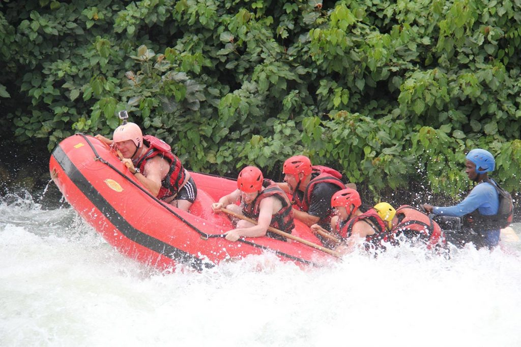 2 Day Whitewater Rafting Jinja, Source of The Nile