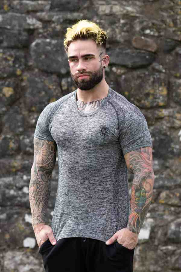 ICE DRY SHORT SLEEVE STEALTH -CARBON